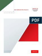 Oracle Cloud Machine delivers cloud un your Data Center