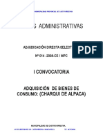 Bases Chaqui de Alpaca II