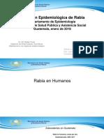 Situacion Epidemiologica de La Rabia 2017