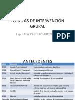 Tecnicas de Intervención Grupal