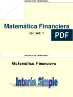 Matematicas Financieras Interes Simple y Compuesto