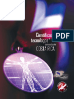 Científicos y Tecnólogos de Costa Rica - Julio 2008