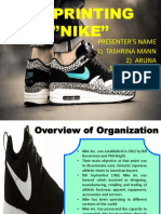 3d Printing Nike Amended
