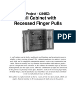 Wall Cabinet Finger Pulls