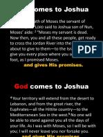God Comes to Joshua