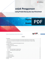 USER GUIDE E-Purchasing v.5 Pejabat Pembuat Komitmen