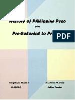 History of Philippine Peso