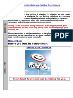 Monsoon Driving Safety