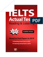 IELTS Actual Test Reading & Listening.pdf