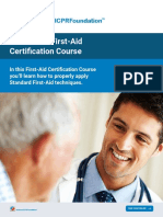 First Aid Certification Course National CPR Foundation