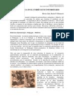 Didáctica Universitaria  y Curriculum