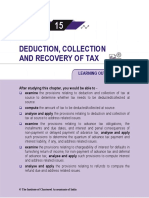 Deduction, Collection & Recovery of Taxes