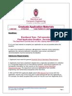 ECE Future Graduate Admissions UWM