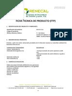 Ficha Tecnica de Producto (Ftp)