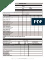 Tr Pm Checklist