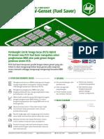Brosur PLTS Hybrid / PV Genset Fuel Saver