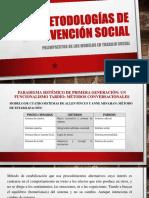 metodología de intervención social