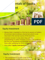 Equity Investment1