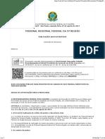 4a Etapa - Edital de Convocacao Para as Provas Orais