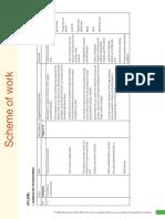 A Level Business Studies CD Scheme of Work
