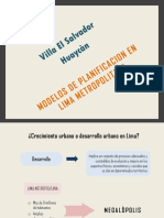 10. Modelos de Planificacion en Lima Metropolitana
