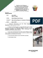 AAR of MPG Dated July 3, 2019