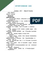 Coronary Artery Disease and Stable