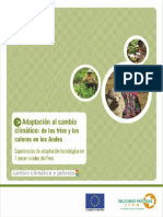 3.2.6. Conceptos de Cambio Climático Desarrollados Por Instituciones