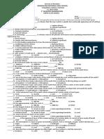 354175401 Ist Summative Test Grade 11 Els
