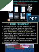 Ketentuan Detail Tulangan Pada Struktur Beton Bertulang Sesuai SNI 2847-201X. HAKI Medan 20.07.2019-1