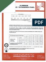 Sandwich panel TDS.pdf