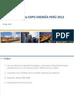 03. Panel Regulación en El Sector Eléctrico - Ing. Daniel Camac - EnERSUR