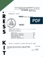 Apollo Pad-Abort Press Kit