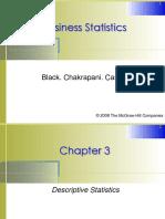Lecture 3. Descriptive Statistics