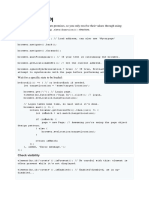 Cheat Sheet for Protractor API testing