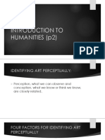Introduction to Humanities (p2)