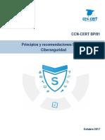 T17 Principios y Recomendaciones Básicas en Ciberseguridad Del CCN CERT