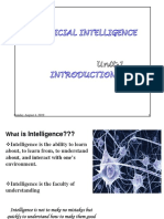 Unit-1 Artificial Intelligence