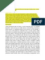 Manual Pavement Condition Survey Methodology