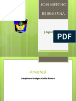 Jomet RS Ibnu Sina Anestesi 3 Agustus 2019