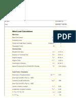 Gust load factors
