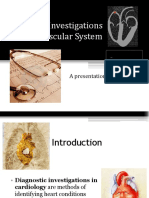 Diagnosticinvestigationsofcardiovascularsystem New 151216090653