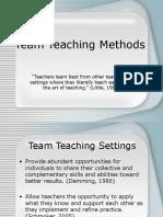 Team Teach Methods