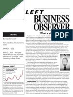 Left Business observer