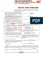 Boats & Streams Question With Solution Free PDF@Www.letsstudytogether.co