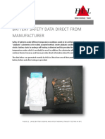 Application Note - Battery Safety Data