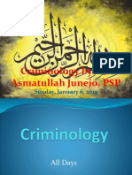 Complete Criminology notes for CSS by SSP Asmatullah Junejo