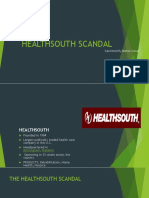 Healthsouth Scandal