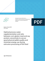 Optimal Process Water Supplementation