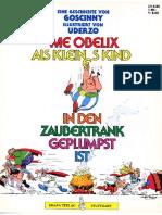 Asterix - Wie Obelix Als Kleines Kind in Den Zaubertrank Geplumst Ist